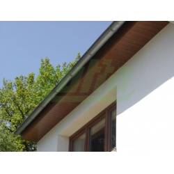 Vzpěra kulatá IDEAL Zn + PVC 2500/38/1,25mm, včetně spojovacího materiálu, zelená