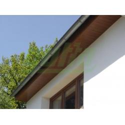 Sloupek kulatý IDEAL Zn + PVC 2000/48/1,5mm, zelená čepička, zelený