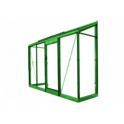 Čtyřhranné pletivo IDEAL PVC NEZAPLETENÉ 125/55x55/20m -1,65/2,5mm, hnědé (Cena za 1m2)