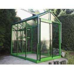 Čtyřhranné pletivo IDEAL PVC ZAPLETENÉ 100/55x55/15m -1,65/2,5mm, zelené (Cena za 1m2)