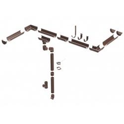 Čtyřhranné pletivo IDEAL PVC KOMPAKT 200cm/55x55/25m - 1,4/2,4mm, zelené (Cena za 1m2)