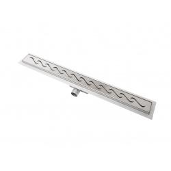 Ukončovací lišta k dlažbě L 3 mm, hliník, přírodní, stříbrná, 2,5 m