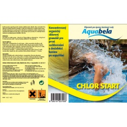Aquabela CHLOR START 3kg