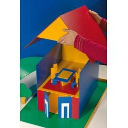 KVK Fasádní barva barevná – Silikon 10 l 10kg/bal.