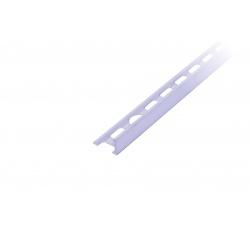 PVC ukonč.lišta s přep., bahama, 10mm/2,5m