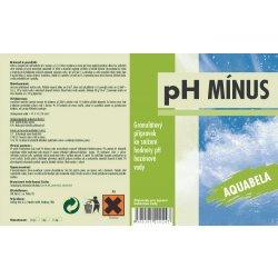 Aquabela pH MÍNUS 1,5kg