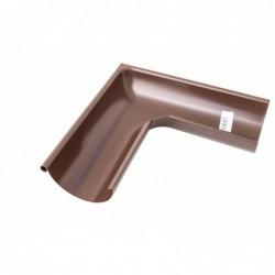 Okapové koleno PVC Aqua 110 mm / 87,5°, tm.hnědá