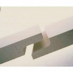 Polyamidový polotovar PA6G přírodní Tyče délka cca 1m x 40 mm