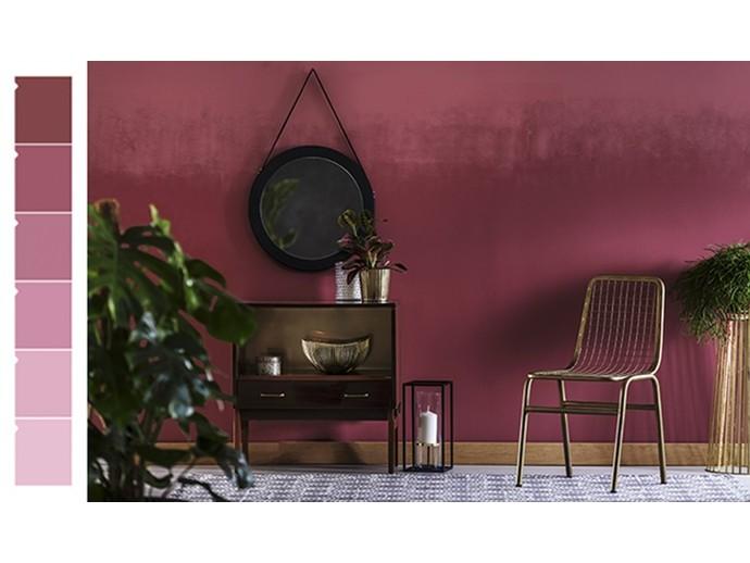 Podzimní barvy v interiéru