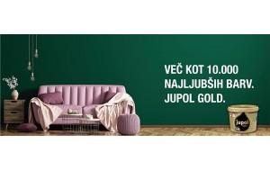 Více než 10.000 nejoblíbenějších odstínů JUPOL Gold